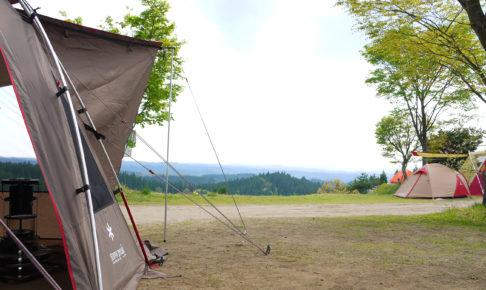 春キャンプも寒さ対策を忘れずに