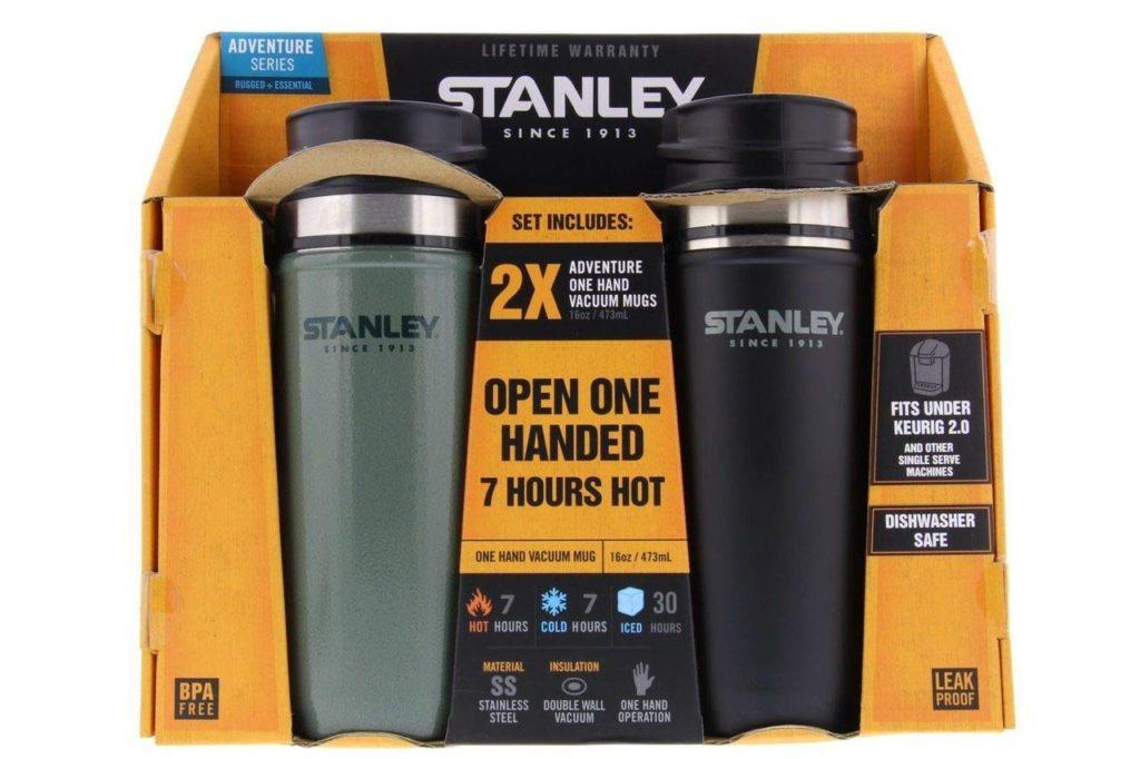 暑い夏にはスタンレーの真空マグでいつも冷たい飲み物を!